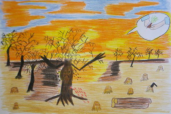 Concurso de dibujo Mi Bosque Seco en Talara